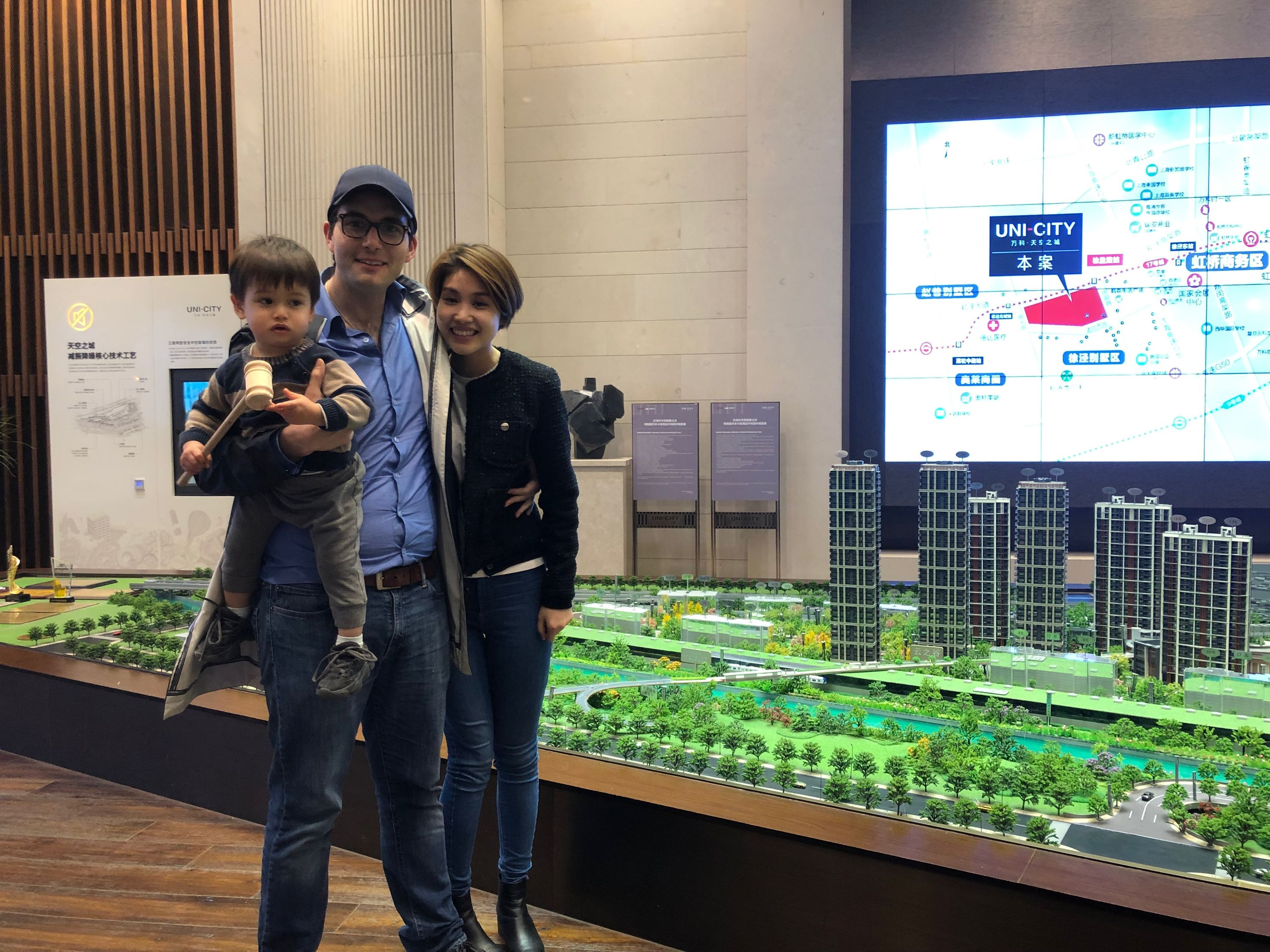 jade, eli and me buying real estate in china - hongqiao